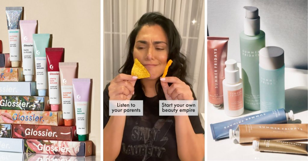 Influencers creating beauty brands: Glossier, Huda Kattan and Summer Fridays