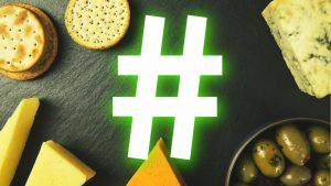 The best food hashtags