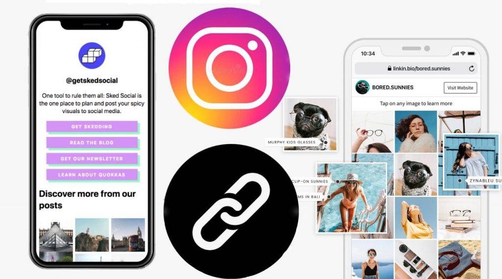 Best link in bio tools for Instagram