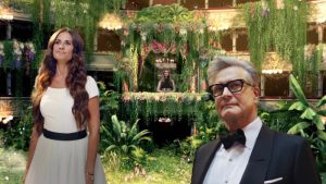 Salma Hayek and Colin Firth at Eco Age 2020