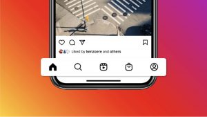 Instagram adds reels and shopping to the homescreen