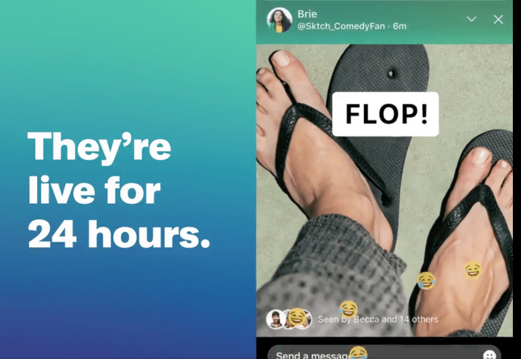 React to Twitter stories Fleets with emojis